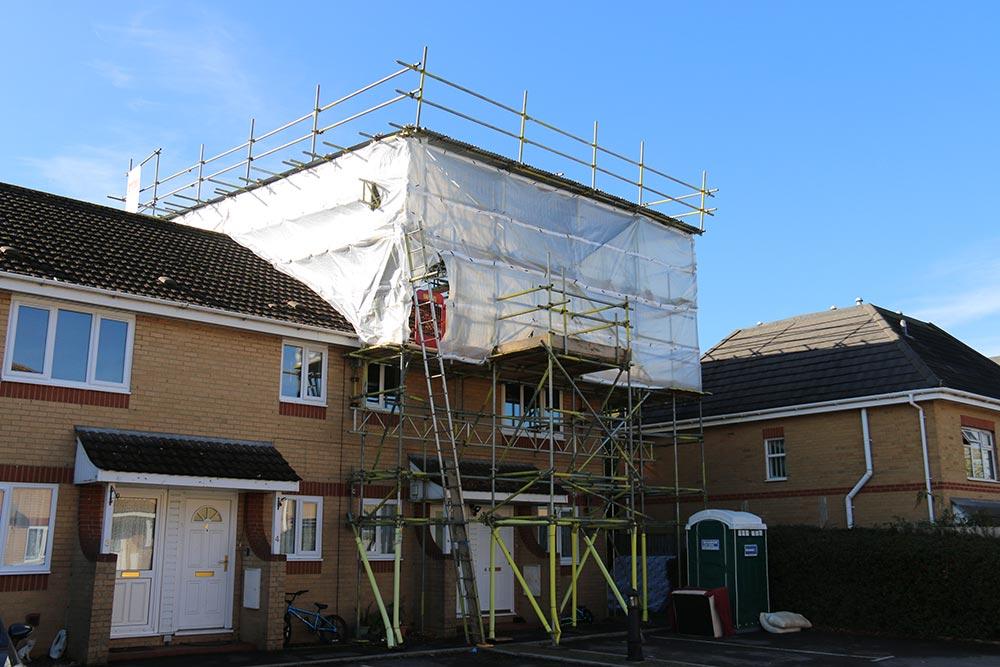 Residential Scaffolding - Triton Scaffolding Ltd