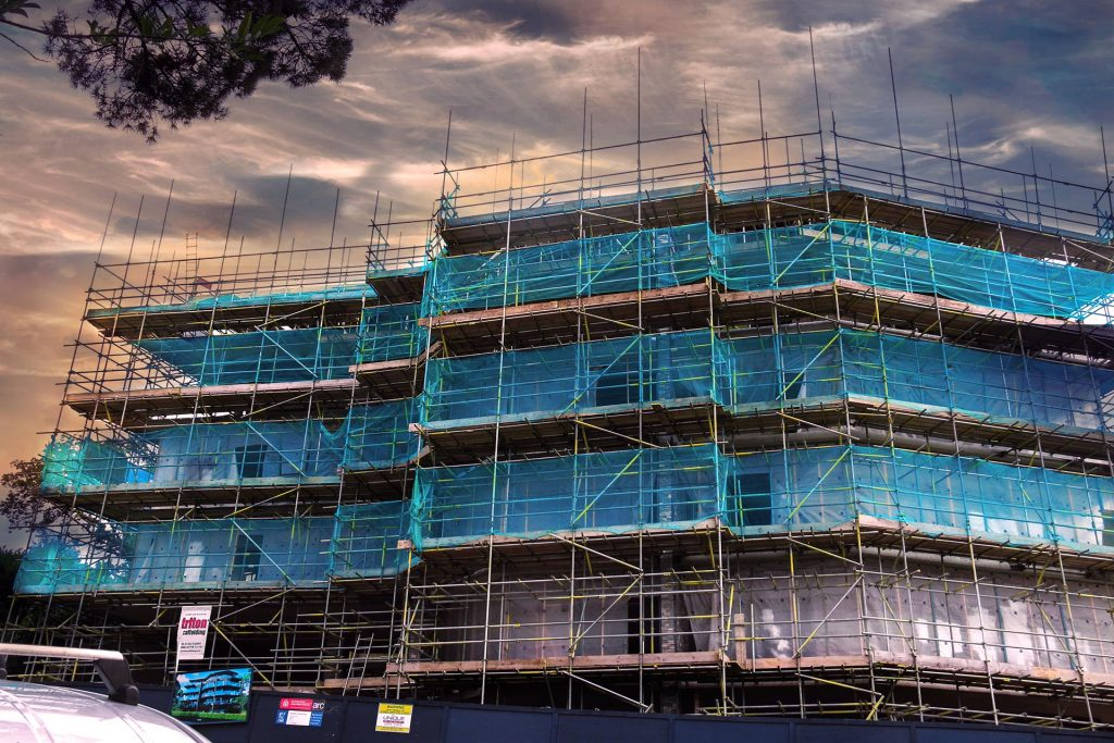 Commercial Scaffolding - Triton Scaffolding Ltd - Slideshow Photo